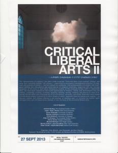 Critical Liberarl Arts