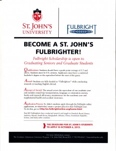 SJU Fulbrighters