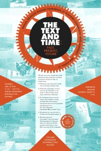 The Text and Time - SCSU Grad English Conference