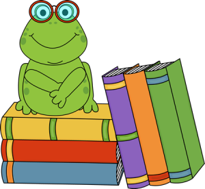 frog-and-books